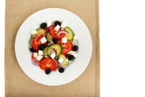 Umzugsessen: Griechischer Salat