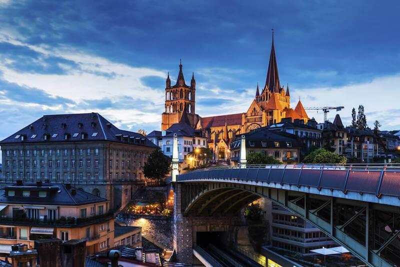Déménagement à Lausanne