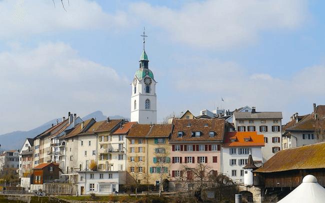 Bild der Oltener Altstadt