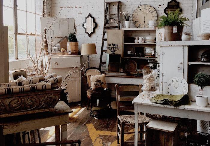 Wohnung mit Möbel