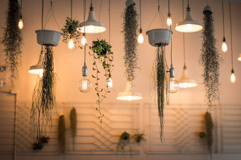 Kreative Lampen Dekoration
