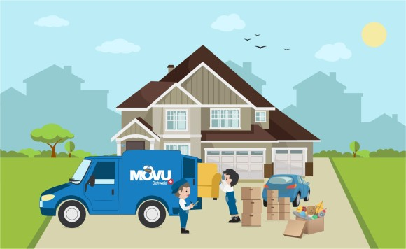 Déménagement ä Sion avec une entreprise de déménaegement