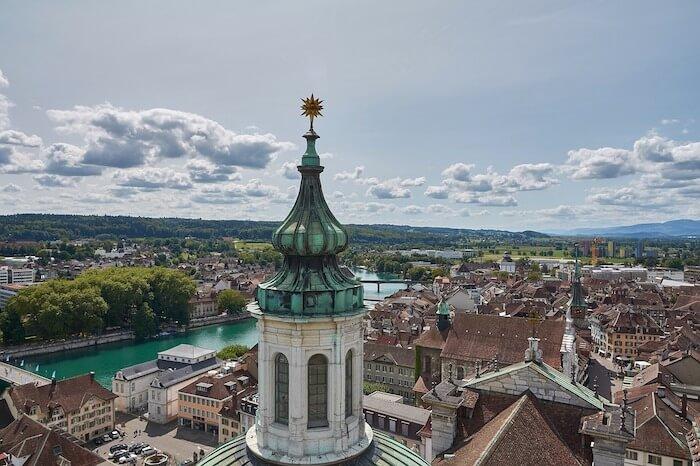Solothurn von oben