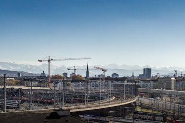 Blick auf Wohneigentum in Zürich