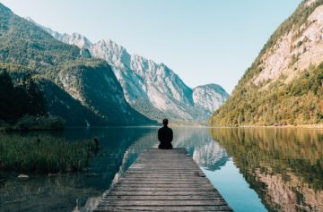 Meditation und Feng Shui in der Natur