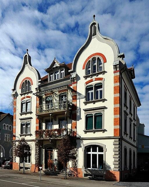 Das Haus Krokodil in Will (St.Gallen)