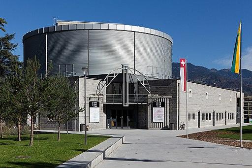 Das Theater Crochetan in Monthey im Wallis.