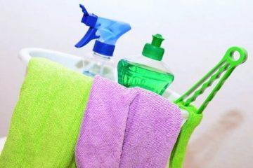 Produit de nettoyage pour le nettoyage après le déménagement