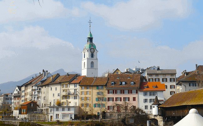 Photo de la vieille ville Olten