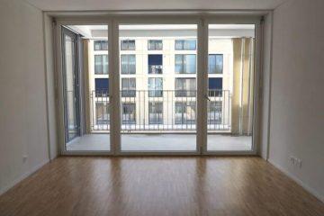 Appartement propre et vide.