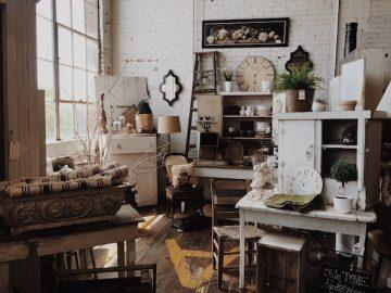 Meubles vintage: où les trouver et les installer