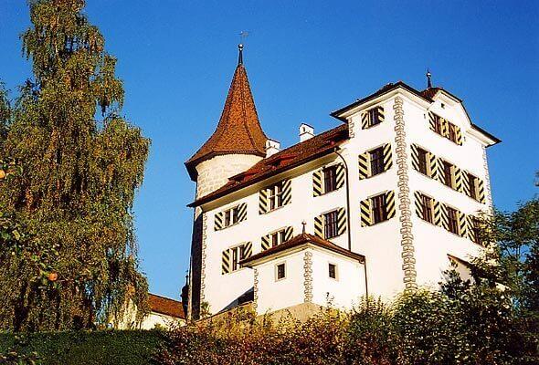 Castle Schernsee in Kriens.