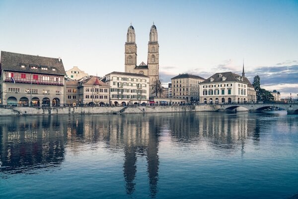 View of the municipality of Zurich.