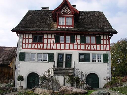 Burg in Meilen.